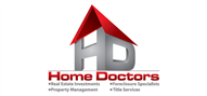 Logoinn created this logo for Home Doctors - who are in the Real Estate Logo Design  Sectors