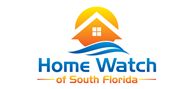 Logoinn created this logo for Home Watch of South Florida - who are in the Property Logo  Sectors