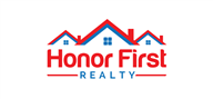 Logoinn created this logo for Honor First Realty Group - who are in the Real Estate Logo Design  Sectors