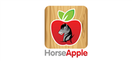 Logoinn created this logo for HorseApple - who are in the Illustration Logo  Sectors