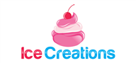 Logoinn created this logo for ICE CREAM CREATIONS - who are in the Food Logo Design  Sectors
