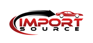 Logoinn created this logo for IMPORT SOURCE  - who are in the Automotive Logo Design  Sectors