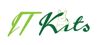 Logoinn created this logo for IT Kits Ltd. - who are in the Information Technology Logo Design  Sectors