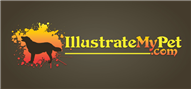 Logoinn created this logo for IllustrateMyPet.com - who are in the Animal Logo Design  Sectors