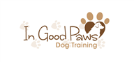 Logoinn created this logo for In Good Paws Dog Training - who are in the Animal Logo Design  Sectors