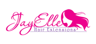 Logoinn created this logo for JayElle Hair Extensions - who are in the Hair Logo Design  Sectors
