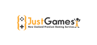 Logoinn created this logo for JustGames NZ - who are in the Games Logo Design  Sectors