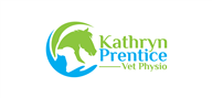 Logoinn created this logo for Kathryn Prentice Vet Physio - who are in the Veterinary Logo Design  Sectors