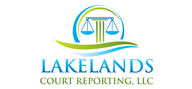 Logoinn created this logo for LAKELANDS COURT REPORTING, LLC - who are in the Law Logo Design  Sectors