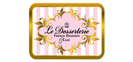 Logoinn created this logo for LE DESSERTERIE - who are in the Beverages Logo Design  Sectors
