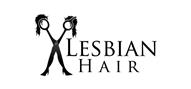Logoinn created this logo for Lesbian Hair - who are in the Hair Logo Design  Sectors