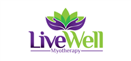 Logoinn created this logo for Live Well Myotherapy - who are in the Weight loss Logo  Sectors