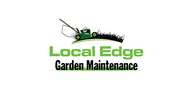 Logoinn created this logo for Local Edge Garden Maintenance - who are in the Landscape Logo Design  Sectors