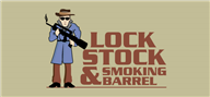 Logoinn created this logo for Lock, Stock & Smoking Barrel - who are in the Illustration Logo  Sectors