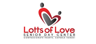 Logoinn created this logo for Lotts of Love Senior Day Center - who are in the Charity Logo Design  Sectors