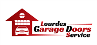 Logoinn created this logo for Lourdes Garage Doors LLC - who are in the Construction Logo Design  Sectors