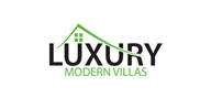 Logoinn created this logo for Luxury Modern Villas - who are in the Real Estate Logo Design  Sectors