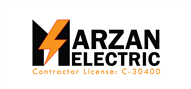 Logoinn created this logo for MARZAN ELECTRIC  - who are in the Construction Logo Design  Sectors