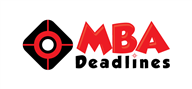 Logoinn created this logo for MBA Deadlines - who are in the Education Logo Design  Sectors