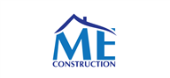 Logoinn created this logo for ME Construction - who are in the Property Logo  Sectors