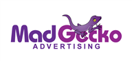 Logoinn created this logo for Mad Gecko - who are in the Animal Logo Design  Sectors