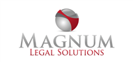 Logoinn created this logo for Magnum Legal Solutions - who are in the Law Logo Design  Sectors
