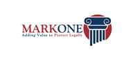Logoinn created this logo for Markone International FZE - who are in the Law Logo Design  Sectors