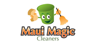 Logoinn created this logo for Maui Magic Cleaners - who are in the Cleaning Services Logo Design  Sectors