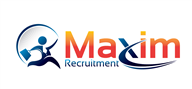 Logoinn created this logo for Maxim Recruitment - who are in the Recruitment Logo Design  Sectors
