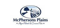 Logoinn created this logo for McPhersons Plains Alpine Retreat & Caravan Park - who are in the Property Logo  Sectors