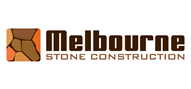 Logoinn created this logo for Melbourne Stone Construction - who are in the Landscape Logo Design  Sectors