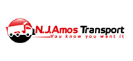Logoinn created this logo for N. J.  Amos Transport - who are in the Transportation Logo Design  Sectors