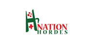 Logoinn created this logo for NationHordes - who are in the Games Logo Design  Sectors