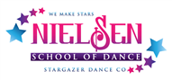 Logoinn created this logo for Nielsen school of Dance - who are in the Music Logo Design  Sectors