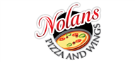 Logoinn created this logo for Nolan's Pizza and Wings - who are in the Cafes Logo Design  Sectors