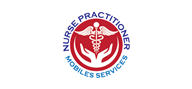 Logoinn created this logo for Nurse Practitioner Mobile Services - who are in the HealthCare Logo Design  Sectors