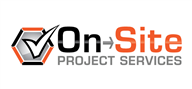 Logoinn created this logo for On-Site Project Services - who are in the Industrial Logo Design  Sectors