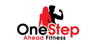 Logoinn created this logo for One Step Ahead Fitness - who are in the Wellness Logo  Sectors