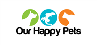 Logoinn created this logo for Our Happy Pets  - who are in the Pet Logo Design  Sectors