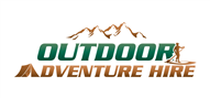 Logoinn created this logo for Outdoor Adventure Hire - who are in the Outdoor Logo Design  Sectors