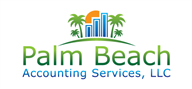 Logoinn created this logo for Palm Beach Accounting Services, LLC - who are in the Accountancy Firm Logo Design  Sectors