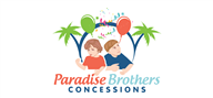 Logoinn created this logo for Paradise Brothers Concessions - who are in the Illustration Logo  Sectors