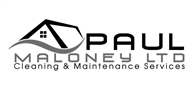 Logoinn created this logo for Paul Maloney Ltd - who are in the Cleaning Services Logo Design  Sectors