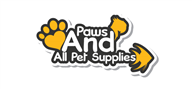 Logoinn created this logo for Paws And All Pet Supplies - who are in the Pet Logo Design  Sectors