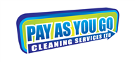 Logoinn created this logo for Pay as you go cleaning services ltd - who are in the Cleaning Services Logo Design  Sectors