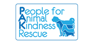Logoinn created this logo for People for Animal Kindness Rescue, Inc. - who are in the Veterinary Logo Design  Sectors