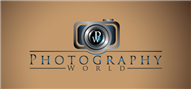 Logoinn created this logo for Photography World - who are in the Photography Logo Design  Sectors