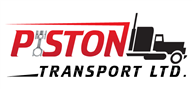 Logoinn created this logo for Piston Transport Ltd - who are in the Transportation Logo Design  Sectors