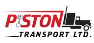 Logoinn created this logo for Piston Transport Ltd - who are in the Transportation Logo Design  Sectors