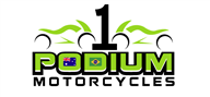 Logoinn created this logo for Podium Motorcycles - who are in the Automotive Logo Design  Sectors